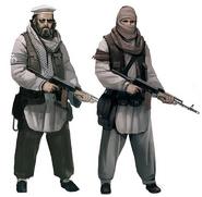 Al - Akrab soldiers