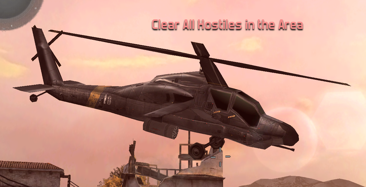 MC3-US Attack Helicopter