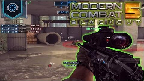 Frost Nation Squad! Modern Combat 5 Blackout E24 SASR Bomber Multiplayer Gameplay & Commentary
