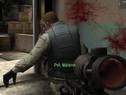 Malone's death