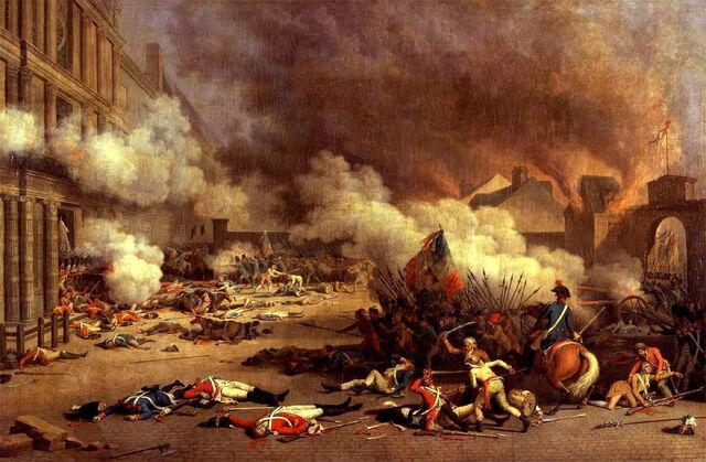 File:Jacques Bertaux - Prise du palais des Tuileries - 1793 .jpg