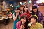 Momoiro Clover Z as Pepsi-Cola representatives