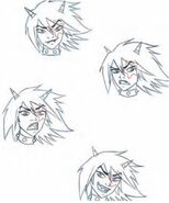 Angel's Friends - Sulfus - Character Expression Sketches