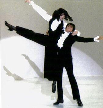 Toni Basil and D