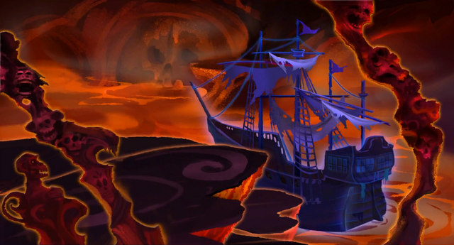 File:Monkey Island - LeChuck's Ghost Ship.png