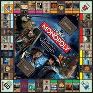 Monopoly Pirates Caribbean Stranger Tides board