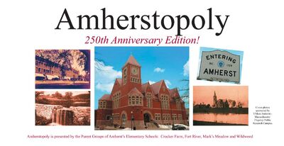 Amherstopoly Layout Box Cover