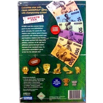 Monopoly Theme Pack - Sports Fan 02