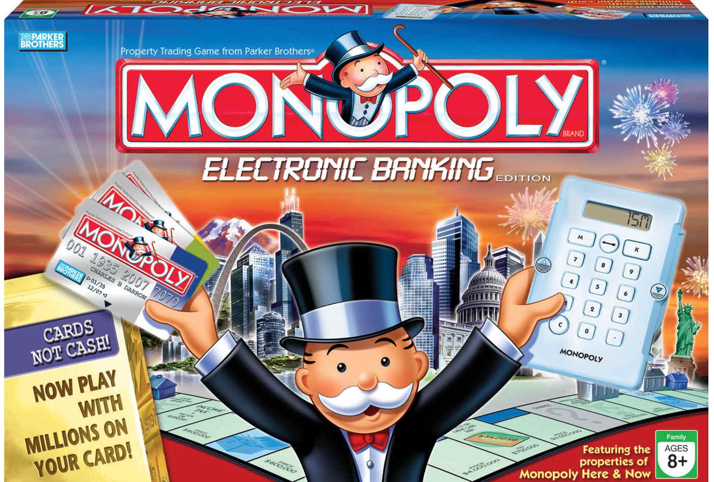 Electronic banking edition monopoly wiki fandom for Nuovo arredo monopoli