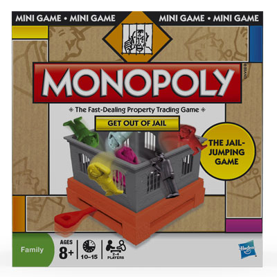 Monopoly Get Out of Jail Mini-Game