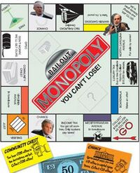 Bailout monopoly parody