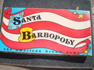Santa barbopoly box