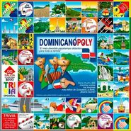 Dominicanopoly board