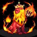 840 Fire Lion King D BMG