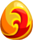 Firestorm Bird Egg
