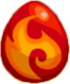 Fire Fox Egg