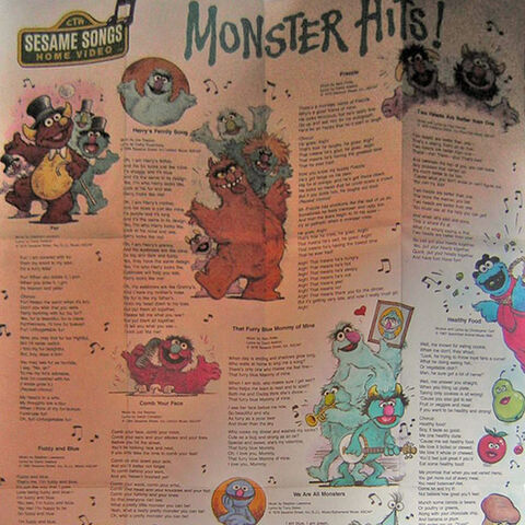 Little Chrissy seen in the Monster Hits! poster