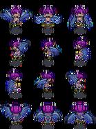 Siren monster girl sprite by tsarcube-d52y2zu