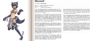 Werewolf book profile