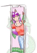 Dragon Broken Door Frame