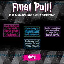 Prom 2014 - final poll
