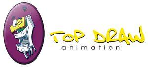 Top Drawn Animation's logo.