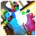 Diorama - five SKRM skates