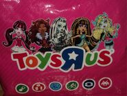 Monster High Toys'R'Us bag