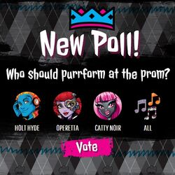 Prom 2014 - performer poll