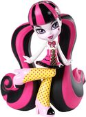 Vinyl figure stockphotography - School's Out Draculaura