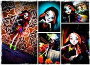 Diorama - Skelita everywhere