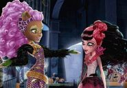 Clawdeen and Draculaura in Ghouls Rule