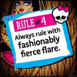 Rules of Monster High - rule 04