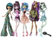 Doll stockphotography - Skull Shores 5-pack
