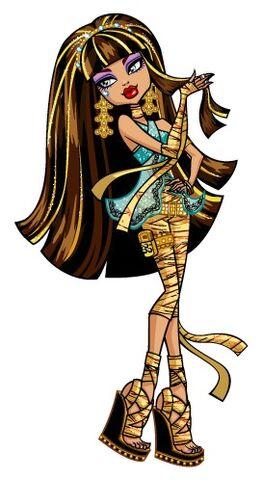 Archivo:Profile art - Cleo de Nile hair.jpg