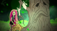 Venus trying to cure the tree