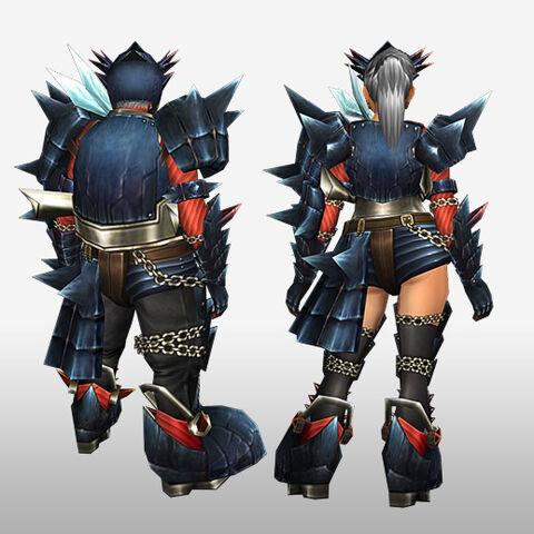 File:FrontierGen-Guren Armor (Gunner) (Back) Render.jpg