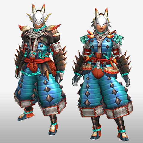 File:FrontierGen-Inari G Armor (Blademaster) (Front) Render.jpg