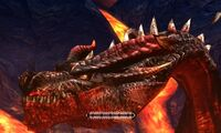 MH4U-Crimson Fatalis Head Break 002