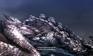 MH4U-Silver Rathalos Back Break 001