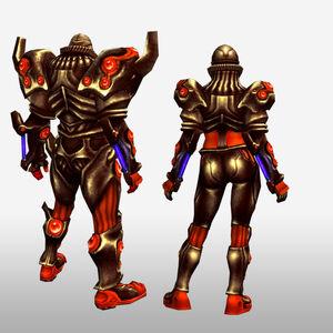 FrontierGen-Genome Armor 003 (Both) (Back) Render