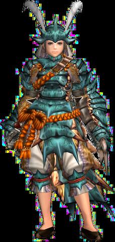 File:FrontierGen-Kutkusu G Armor (Female) (Gunner) Render 001.png
