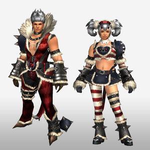 FrontierGen-Ukon Armor (Both) (Front) Render