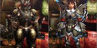 Rhopessa Armor (Blademaster) (MH4U)