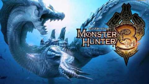 Monster Hunter 3 (Tri) OST Disc 1 - Trap in the Stream - Chanagabur Gobul