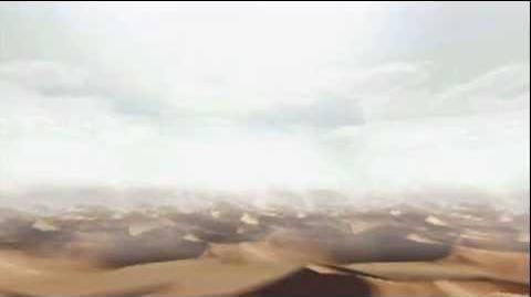 """Monster Hunter Freedom Unite -- """"White Night Dune"""" (Desert - Day)"""