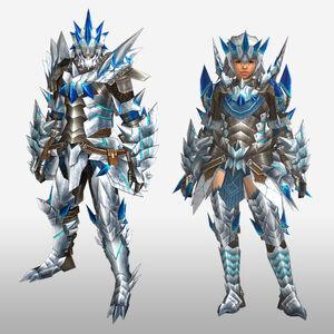 FrontierGen-Altera Armor (Blademaster) (Front) Render