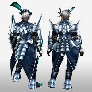 FrontierGen-Jebia G Armor (Blademaster) (Back) Render