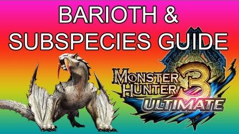 Monster Hunter 3 Ultimate - G1★ Barioth & G2★ Sand Wind guide ベリオロス亜種-0