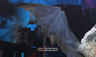 MH4U-White Fatalis Wings Break 002